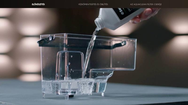 Saeco Incanto kávégép vízkőmentesítése | Philips Magyarország