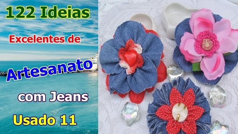 122 Ideias Excelentes de Artesanato com Jeans Usado 11 | Criando Maravilhas