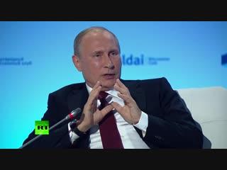 №1 Путин: русские и украинцы — один народ