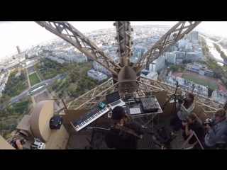 Deep house presents: møme - on the top session [eiffel tower] [dj live set hd 720]