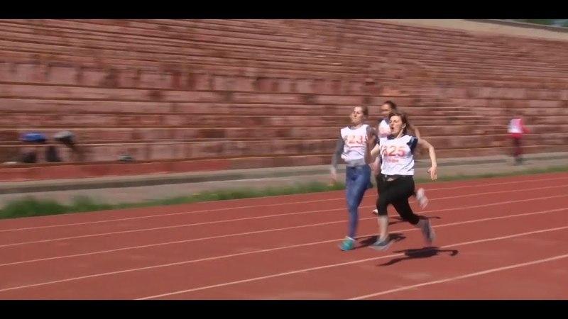Легкоатлетическое многоборье спортсменов ОЭМК