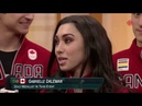 Team Canada Figure Skaters Interview on CBC PyeongChang Olympics Special