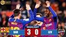 Barcelona vs Levante 3-0 Highlights - Resumen y Goles - 17/1/2019