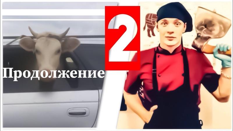 🔪 Покупатель Купил домой пол быка 🐂 90кг Мясо 🥩 Часть 2