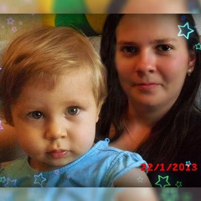 Надежда Лысенко, 31 июля 1989, Новосибирск, id18400197