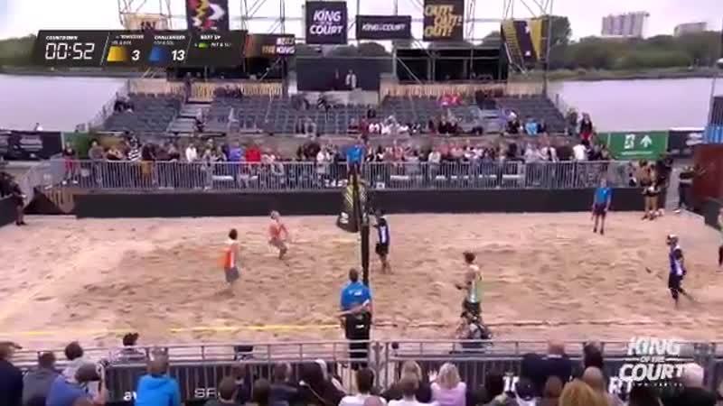 Чуток пляжного волейбола
