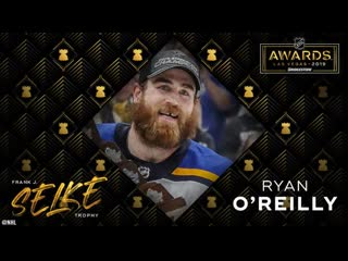 Ryan o'reilly adds to trophy case with selke win | june 19, 2019