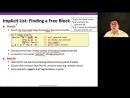 60 Implicit Free Lists