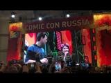Брайан Декарт и Амелия Роуз Блэр о фан-сообществе Detroit (Comic Con Russia 2018)