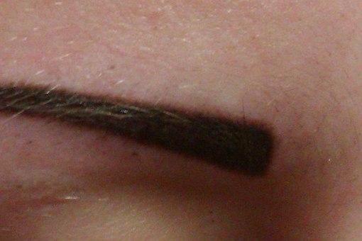 Перманентный макияж век стрелки с растушевкой фото