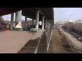 parkour КЛАН | double blanche on grass 6 meter