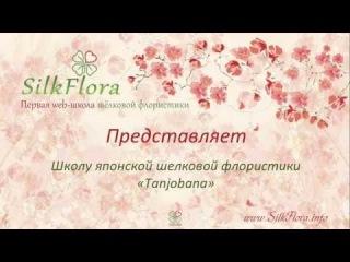 Базовый курс японского цветоделия школы Tanjobana. Предварительная регистрация на обучение.