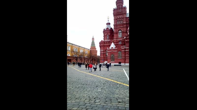 Москва Красная площадь 12.04.2019 г.