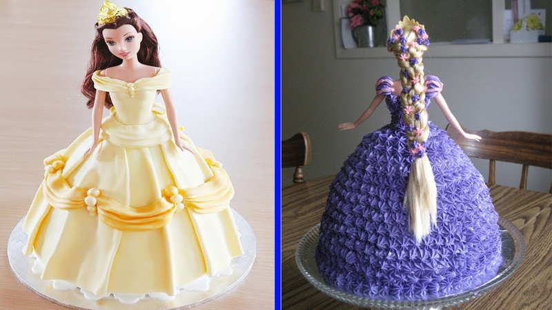 Top 4 Barbie Cake Tutorial Compilation - Barbie Doll Cakes - Most Satisfying Cake Styles Video
