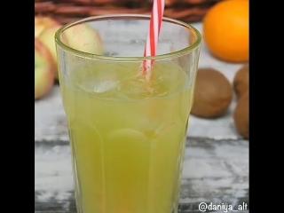 лимонад из киви и цитрусов🍋🍊