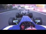 Bump Draft style Nascar in GP3 2012 at Monza