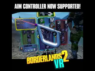Borderlands 2 vr получила поддержку psvr aim controller