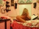 Видео - Девочка крутит попкой перед вебкой [Домашнее, любительское, частное порно и жёсткий секс 18] [720p]