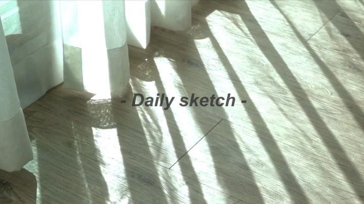 MOON Ⅱ 문현아 on Instagram 📽youtube 빛으로 채운 2주간의 기록☀️ Daily Sketch 올렸어요 💜Link in my Bio💜