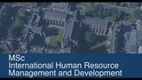 MSc international Human Resource Management and Development