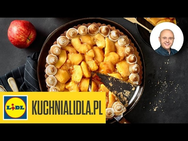 🍰🍎 Tarta jabłkowo-waniliowa - Paweł Małecki Cukiernia Lidla - przepisy Kuchni Lidla