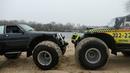 Первые испытание на суше и ВОДЕ болотоход LANCIA Delta НИВА МАРШ участвует OFF ROAD 4X4
