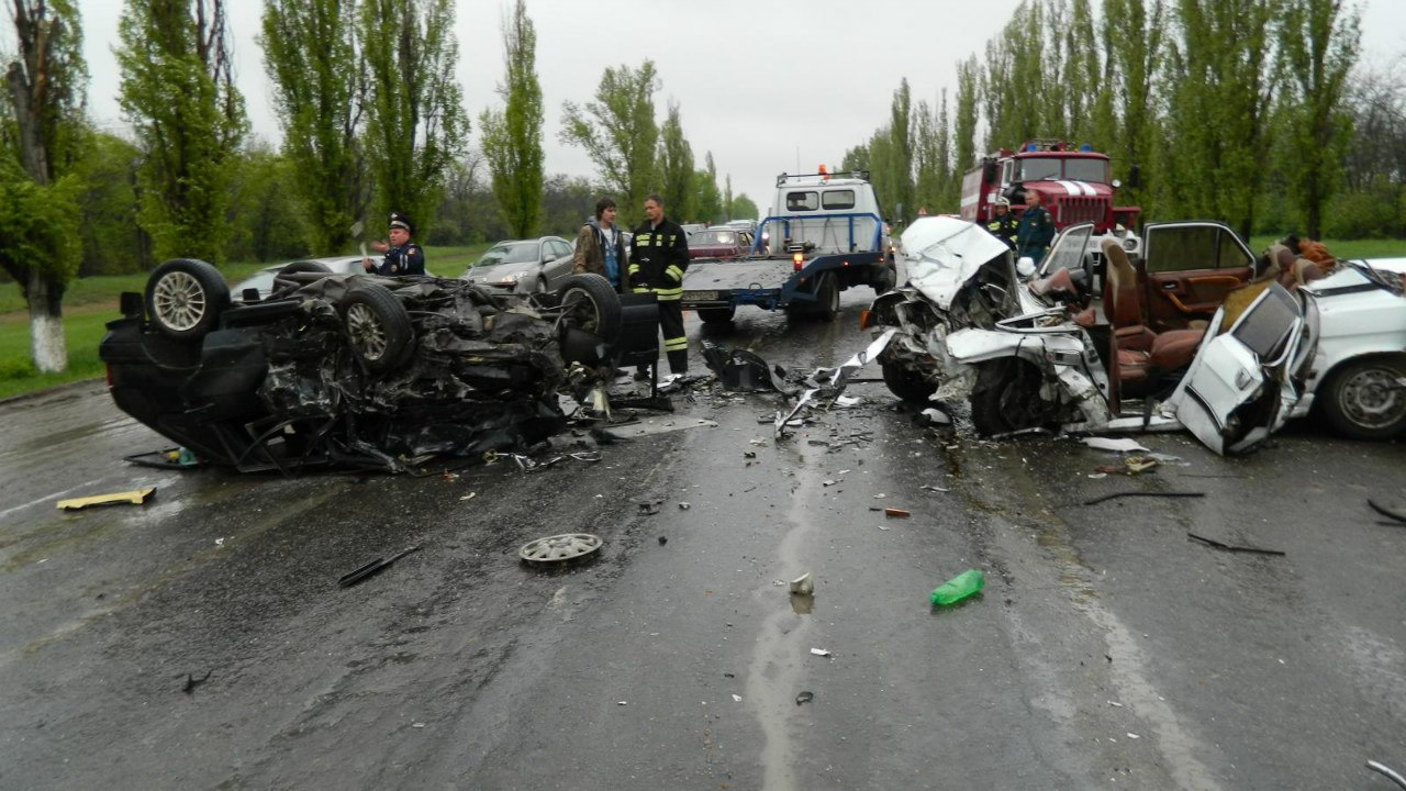 ДТП на трассе Новочеркасск - Каменоломни