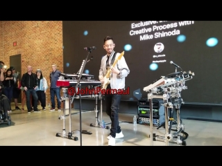 Mike Shinoda - Crossing A Line (Live) Today At Apple Williamsburg NYC June 2018