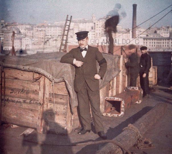 Автохром в лицах. Автохром первая в мире технология цветной фотографии, пригодная для массового применения.Запатентована братьями Люмьер в 1903