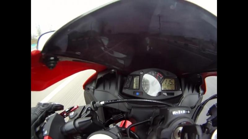 Red-27-Devil разгон CBR 600 RR до 200 км-ч г.Краснодар.mp4