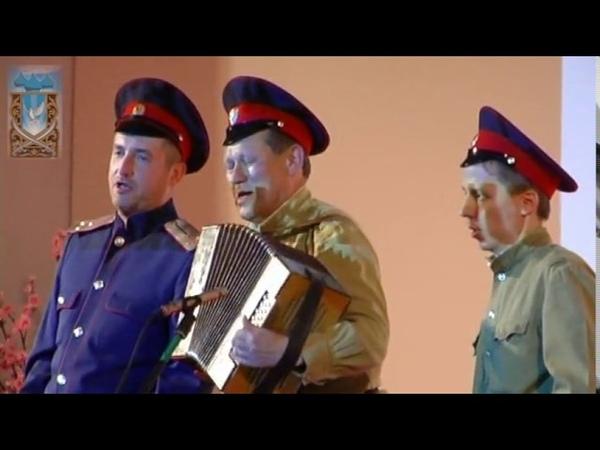 Выступление ансамбля Казачий спас