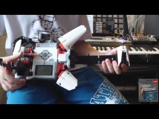 EV3 EL3CTRIC GUITAR + Bluetooth Arduino MIDI-сontroller