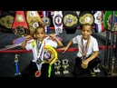 Grandy twins 9 Year Old boxing PHENOMS Youth Boxing