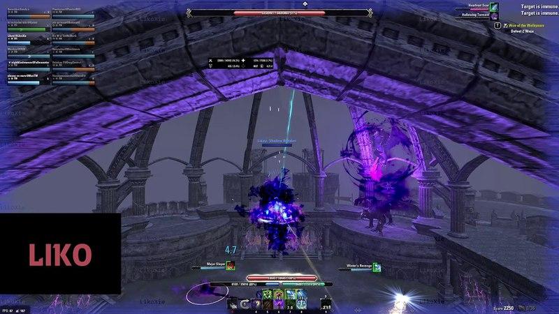 ESO - [Hodor] - Vet Cloudrest 1 (Ice boss) - Magicka Warden POV - Summerset PTS 4.0.0