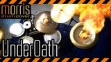 METAL REMIX Underoath - Desperate Times, Desperate Measures (Morris Metal Drum Cover)