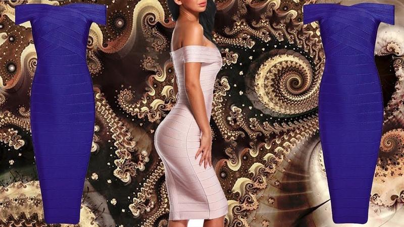 ✔ Пикантное платье с открытыми плечами из серии MUST HAVE