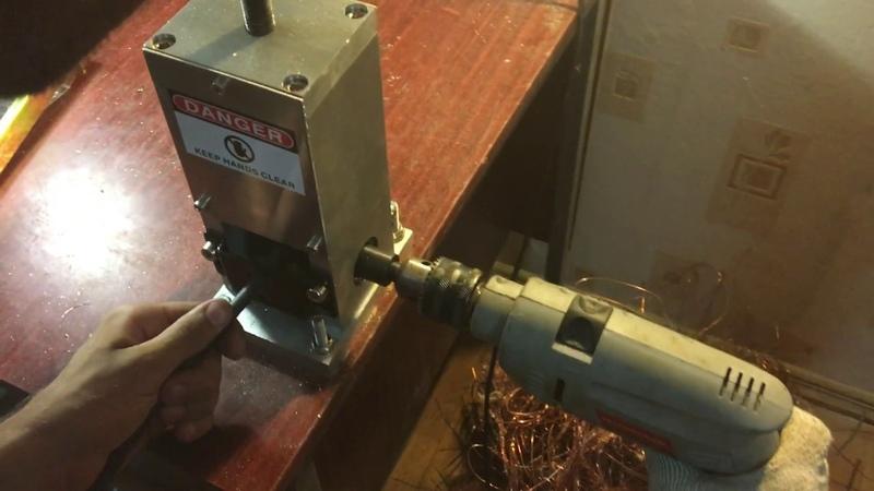 5) Ручной станок для разделки кабеля M-25 ввг