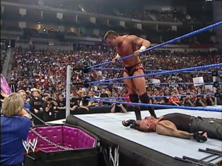 Undertaker vs.  Randy Orton Casket Match No Mercy 2005