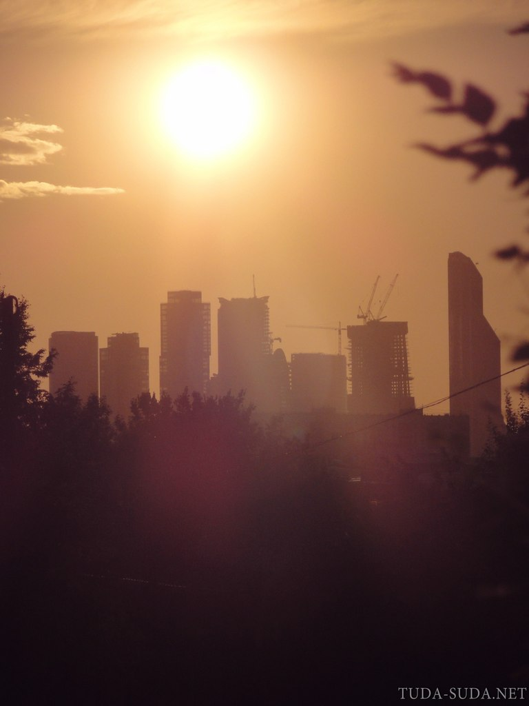 Небоскребы Москвы фото