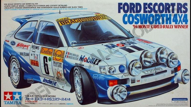 Ford Escort RS Cosworth 4x4 - Tamiya 1/24