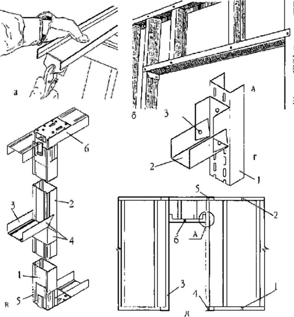Схема подвесного потолка из гипсокартона фото 272