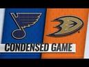 St Louis Blues vs Anaheim Ducks Jan 23 2019 Game Highlights NHL 2018 19 Обзор матча