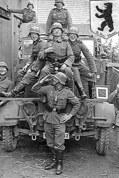 Что помогало немецким солдатам не спать сутки напролёт.