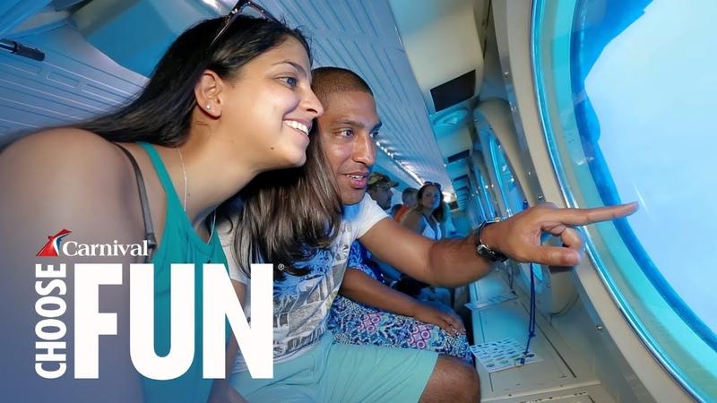Atlantis Submarine in Grand Cayman   Carnival Shore Excursions   Carnival Cruise Line