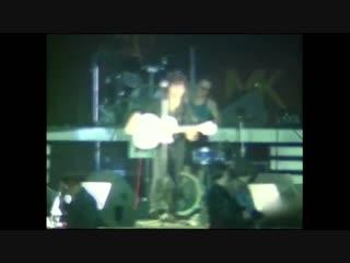 Как Каспарян играл Группу крови на концертах группы Кино (1988-1990)
