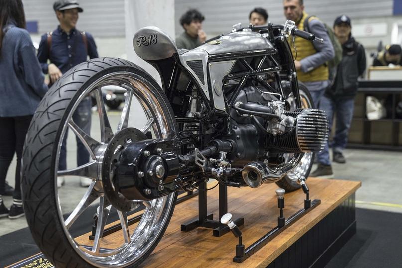 Кастом и 1800-кубовый оппозит BMW с воздушно-масляным охлаждением