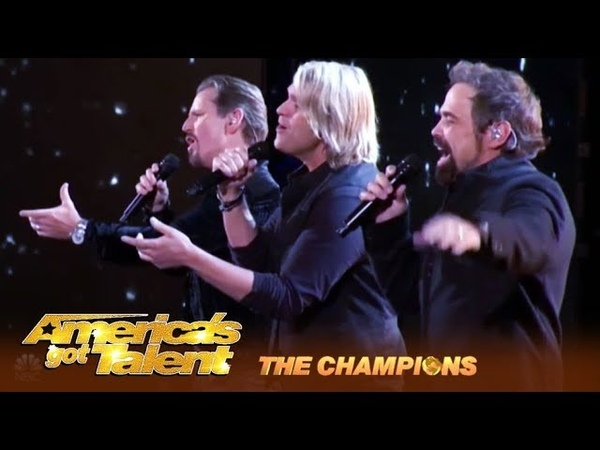 The Texas Tenors Amazing Vocal Trio Deliver EPIC Perfomance! | Americas Got Talent Champions