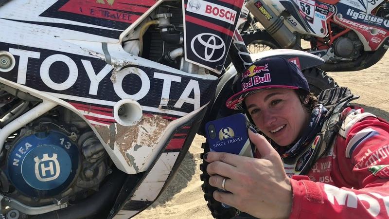 Анастасия Нифонтова финишировала на Дакаре 2019 болеемзанифонтову originalbymotul motul