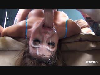 Ava devine трахнули в рот мамашу и залили спермой