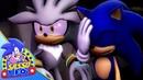 Sonic the Hedgehog Animation - TRIPLE S - SHADOW, SONIC SILVER - SFM Animation 4K